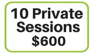 10 Private Sessions at Yoga Loft