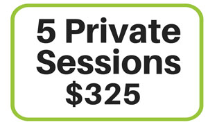 5 Private Sessions at Yoga Loft