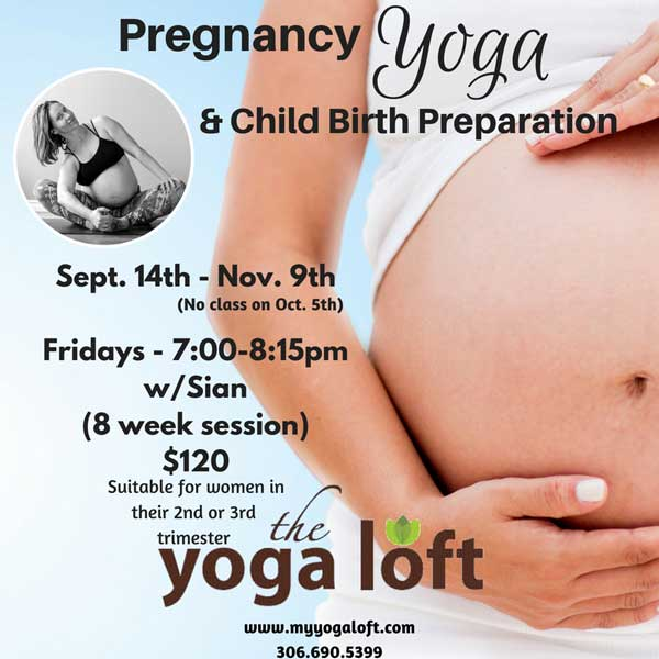 Pregnancy Yoga at the Yoga Loft